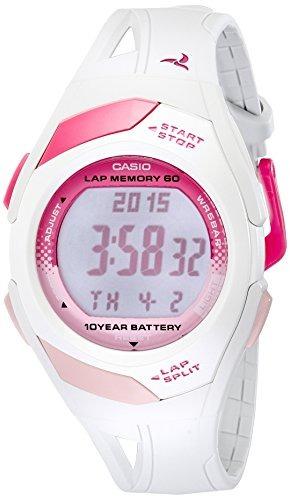 7Color Para Casio Str300 Mujer BlancoDeportivo Reloj CxWrBEQdoe