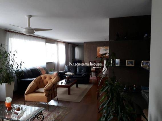 Apartamento Residencial À Venda, Cambuí, Campinas. - Ap0416