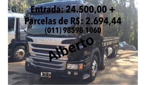 Scania P94 310 2014 Graneleiro