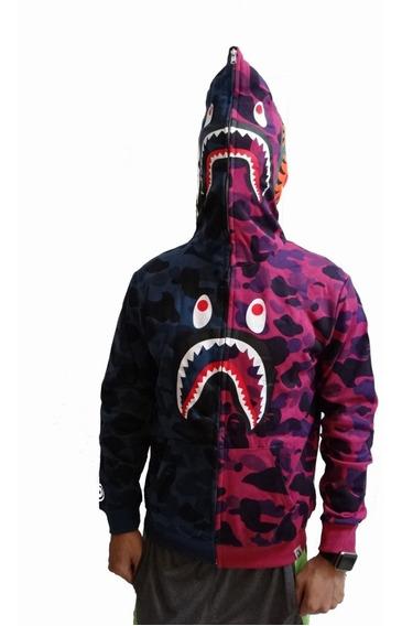 Bape Hoodie Camo Shark Supreme Off White Envío Gratis