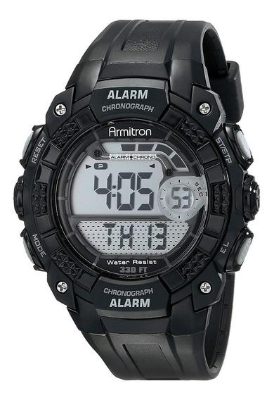Armitron Reloj Digital Deportivo Negro 40/8209blk