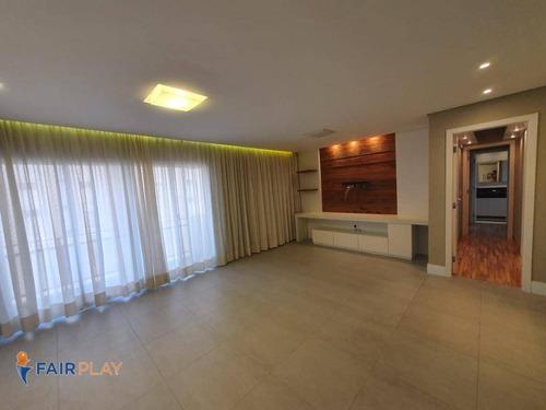 Imagem 1 de 30 de Apartamento Com 2 Dormitórios 1 Suite 2 Vagas 98 M² Lazer Completo   Local Excelente No Campo Belo - Ap5885