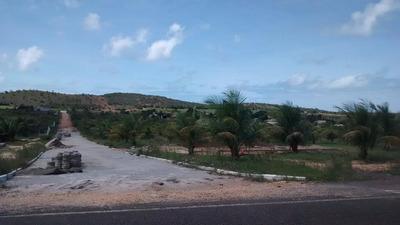 Ótimo Terreno Para Casa De Praia, Posição Leste , Medindo 15x35, Perfeito Para Finais De Semana - Te0027