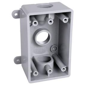 Hubbell-bell Psb37550gy Caja A Prueba De Intemperie Con