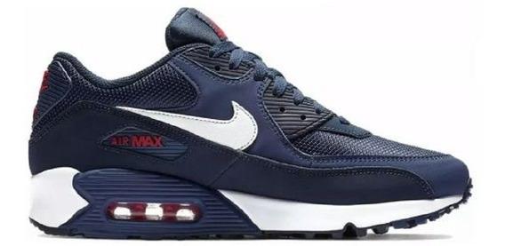 Zapatillas Nike Air Max 90 Azul Marino Talle 40 8.5 Europeo