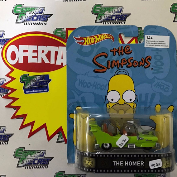 The Homer Simpsons Retro Hot Wheels Borracha