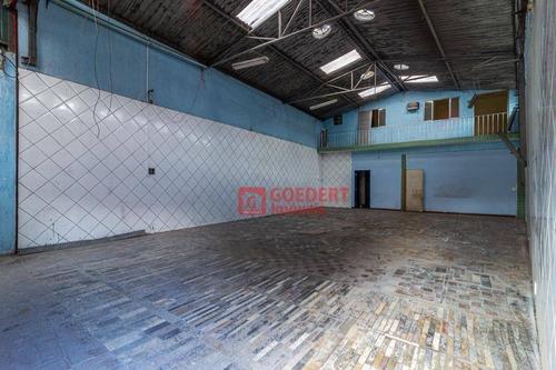 Galpão Para Alugar, 250 M² Por R$ 2.750/mês - Jardim Castanha - Guarulhos/sp - Ga0163