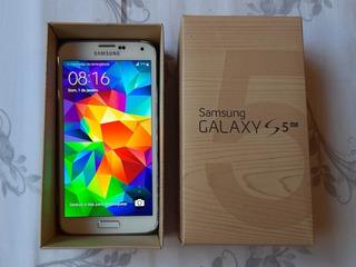 Samsung Galaxy S5 Branco Sm G900m Zwazto Otimo Estado
