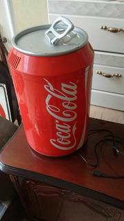 Mini Refrigerador Coca-cola Capacidad Para 8 Latas En Oferta