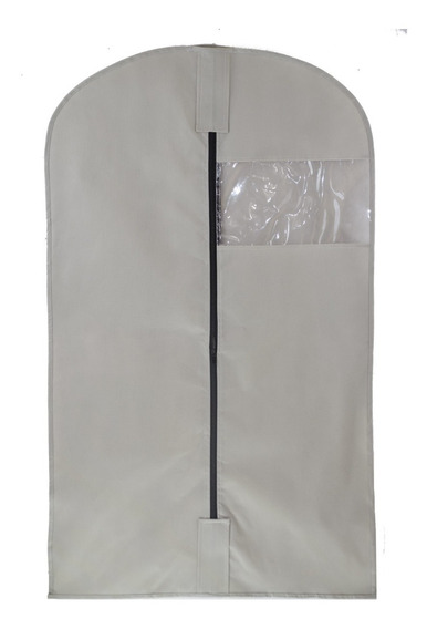 Set De 6 Porta Trajes T 60x100 Funda Protectora Ropa Vestido
