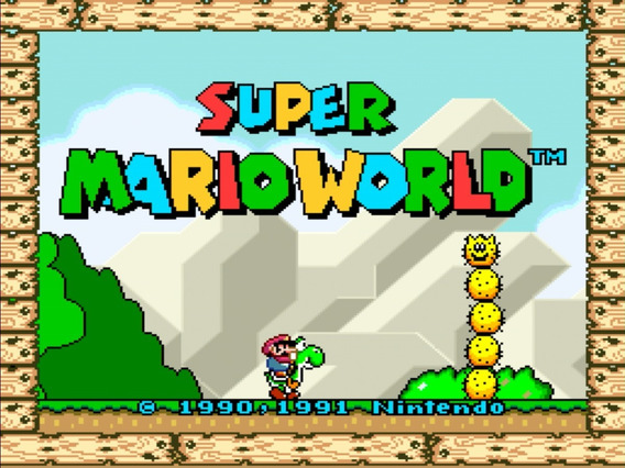 Jogo Super Mario World Para Pc Envio Imediato