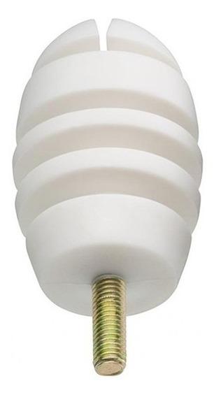 Isolador Branco Para Cerca Eletrica Pacote Com 100 Unidades