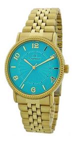 Relógio Feminino Champion Cn25190y + Brinco+ Colar - Oferta