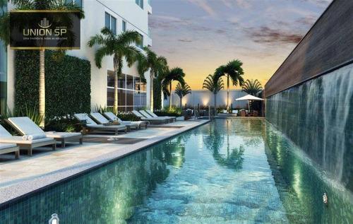 Imagem 1 de 15 de Apartamento Com 4 Dormitórios À Venda, 165 M² Por R$ 2.550.000,00 - Brooklin - São Paulo/sp - Ap49775