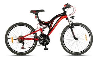 Bicicleta Aurora 24dsx Doble Suspensión *ahora 12/18*