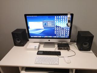 Kit Producion Musical Imac27 5k Monitor Interface Grabación