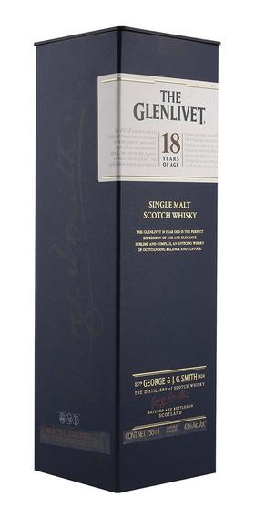 Whisky The Glenlivet 18 Años 750 Ml