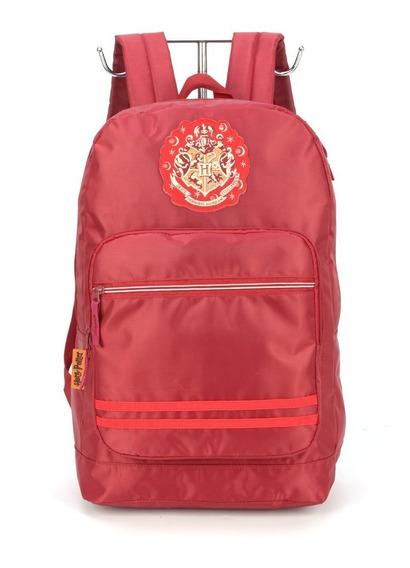 Mochila Harry Potter House Hogwart Vermelha Geek Ms45712hpv