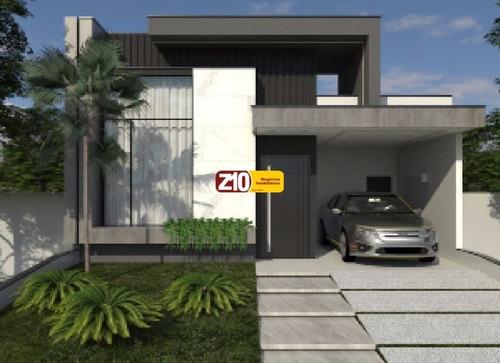 Ca09303 - Residencial Mantova  - Z10 Imóveis Indaiatuba - At 218,86m²  Ac 149,60m² -  03 Suítes, Cozinha Planejada Com Armários - Ca09303 - 69306559