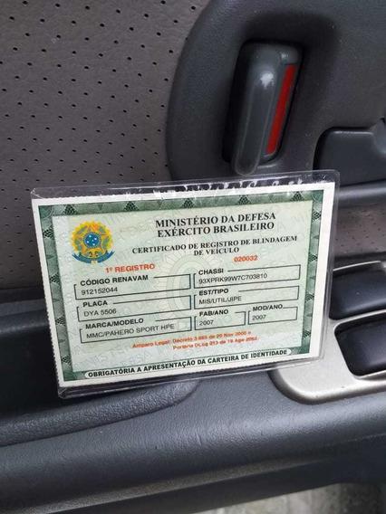 Mitsubishi Pajero Sport Pajero Sport Blindad