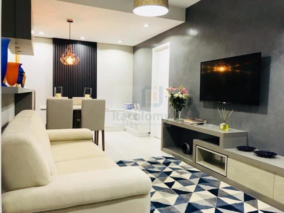 Ref: 3459 Lindo Apartamento Mobiliado No Novare Alphaville - 3459