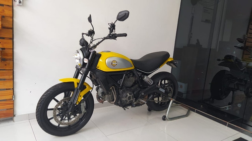Ducati Scrambler Icon 2017 Amarela Tebi Motos