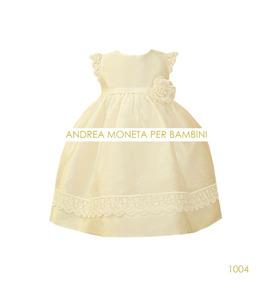 28d0c481f Vestido Beba Bautismo O Fiesta Andrea Moneta Per Bambini - Ropa y ...