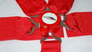 Cinturon De Seguridad 5 Puntas At Hebilla Redonda