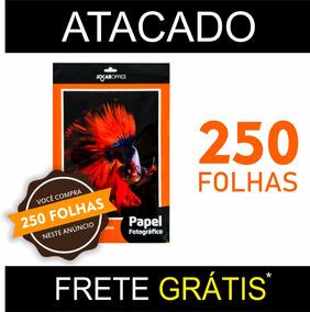 Papel Fotográfico A4 Adesivo 135g 250 Fls Qualidade Premium