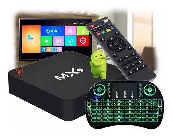 Tv Box Pro 2gb E 16gb + Controle + Codigo Anual Tv Express