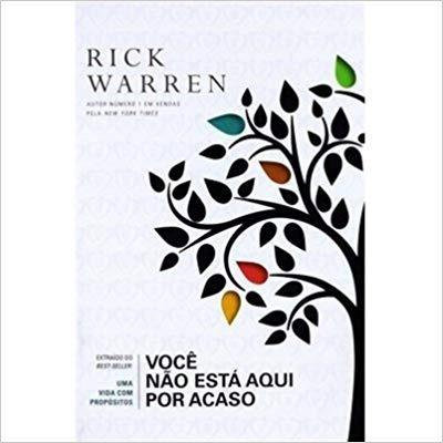Livreto Rick Warren - Você Não Está Aqui Por Acaso - Bolso