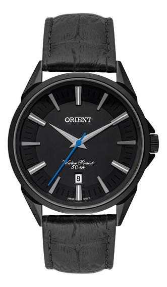 Relógio Orient Masculino Mpsc1010 P1px Preto Couro