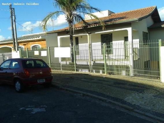 Casa Para Venda Em Valinhos, Castelo, 3 Dormitórios, 1 Suíte, 3 Banheiros, 4 Vagas - Ca 353