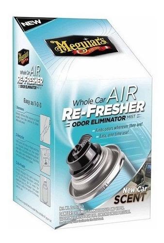 Imagen 1 de 4 de Car Air Refresher New Car Meguiars Eliminador De Olor,perfum