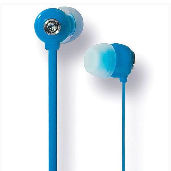 Fone De Ouvido Youts In-ear - Candy Colors Azul