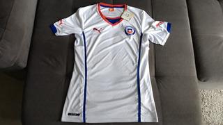 Camisa Original Da Seleção Do Chile Oficial Da Puma Com Todas Etiquetas