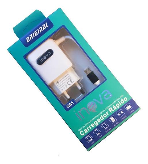 Carregador Rapido Bateria G61 Usb Cam Actio Acao Chdha-301 1