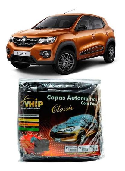 Capa Cobrir Carro Renault Kwid 2017 2018 Forrada