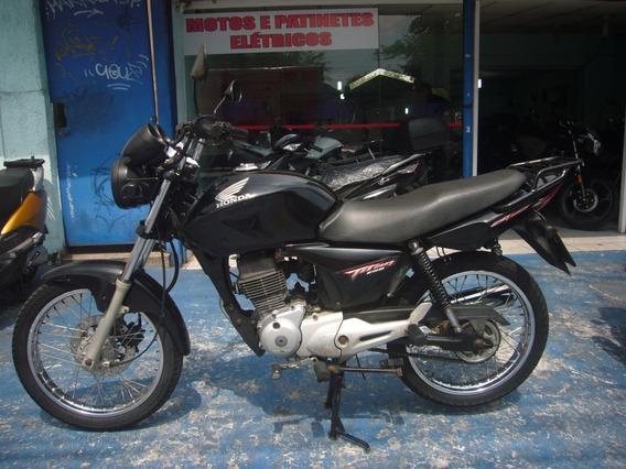 Honda Cg Titan 150 Esd Preta Ano 2008 R$ 5.599 Troca