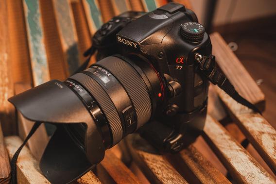 Câmera Sony A77 + Grip + Lente Sal Dt 16-50 F2.8 Ssm