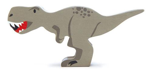 Imagen 1 de 3 de Juguete Dinosaurio Tiranosaurio Rex En Madera P/ Niños Febo