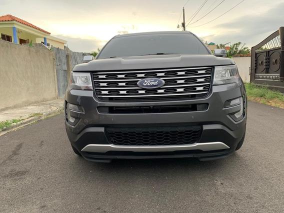 Ford Explorer Platinum 2017 3.5 Gris 4 Puertas