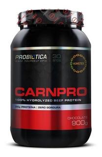 Carnpro 900g Proteina Da Carne Probiótica Sabor Chocolate