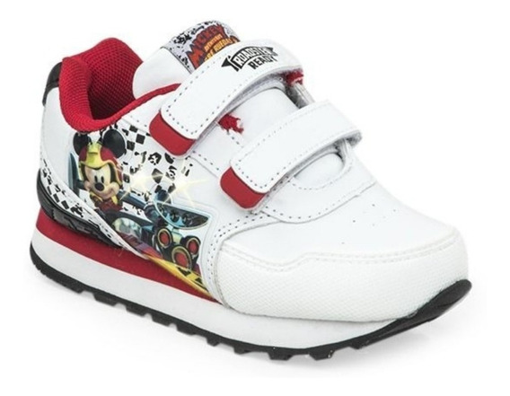 Zapatillas Addnice Mickey Disney Con Luces Running
