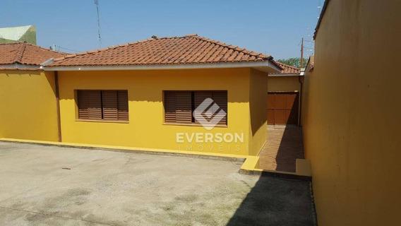 Casa Com 2 Dormitórios Para Alugar, 150 M² Por R$ 779,00/mês - Parque Universitário - Rio Claro/sp - Ca1065