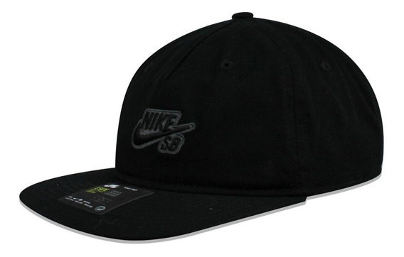 Gorra Nike Snapback Skateboarding Negro