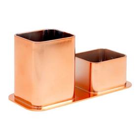 Porta Canetas / Clips Dello Metalizado Rose Gold 3030.rg.00