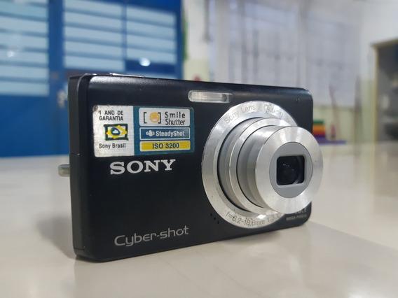 Câmera Digital Sony Cybershot Dsc W180 10.1 Megapixels