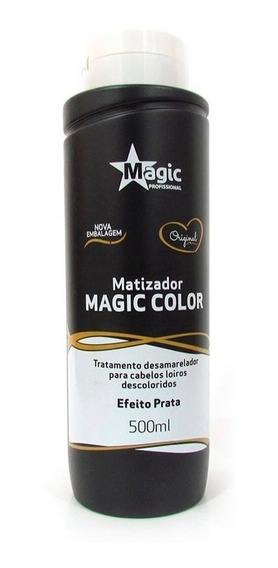 Gloss Matizador Magic Color Efeito Prata 500ml