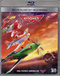 Aviones Disney Pelicula Blu Ray Nueva Original Sellada